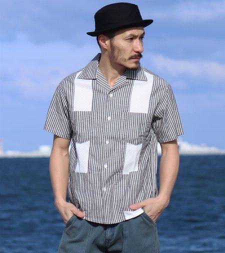 『児島ジーンズ』キューバシャツ