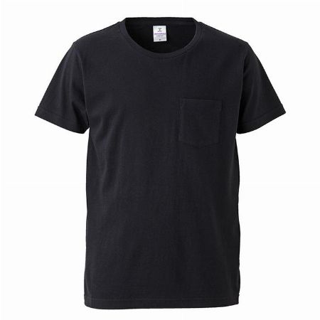 4.7オンス ファインジャージー Tシャツ ポケット付