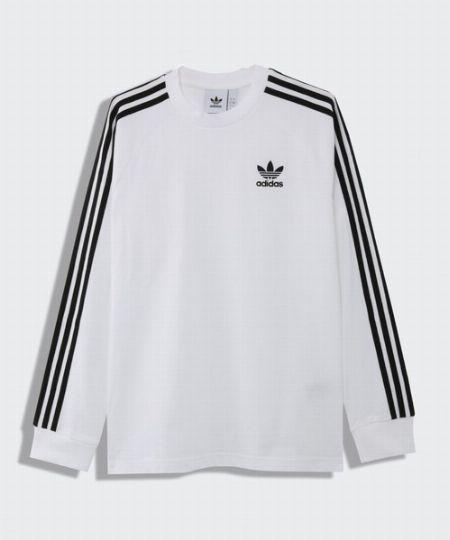 スリーストライプス ロングスリーブ Tシャツ