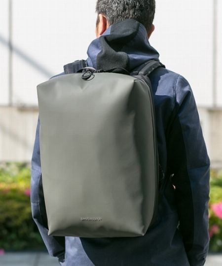 シーン問わず活躍する、防水性能の高いバッグが頼もしい!