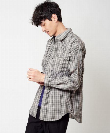 A2:渋めカラーのシャツを選んで、パンツと色をリンクさせるといいでしょう 3枚目の画像