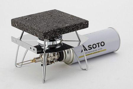 『ソト』レギュレーターストーブST310+レギュレーターストーブ専用溶岩石プレート
