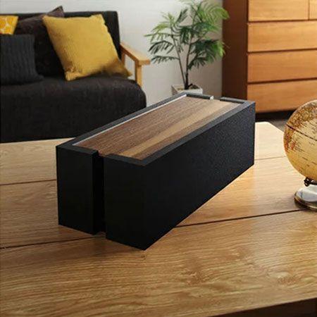 『インテローグ』木製ケーブルボックス