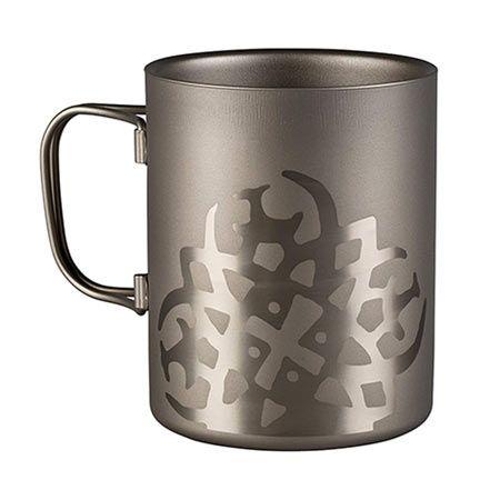 チタニウム ダブルウォール マグカップ
