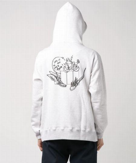 『オンブレ・ニーニョ』フーデッドスウェットシャツ