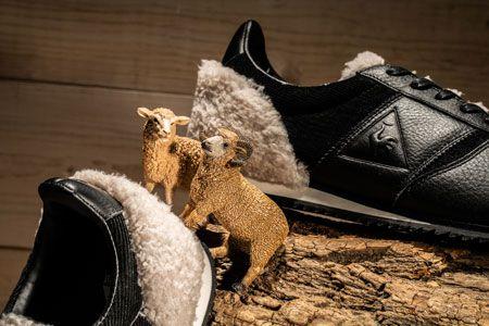 ほっこり温かな見た目のスニーカー。そのデザインソースは……羊!? 4枚目の画像