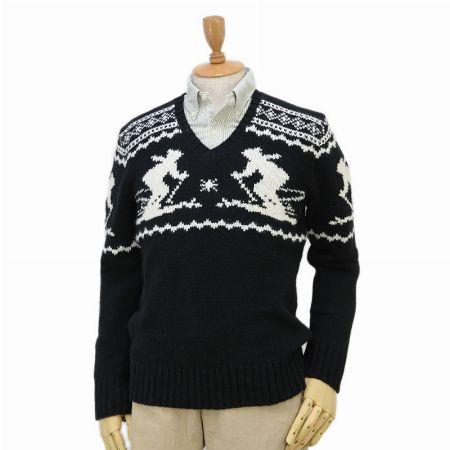 『ラルフローレン』ノルディック柄 セーター