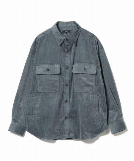 『ベイフロー』TCリュウカコーデュロイシャツ