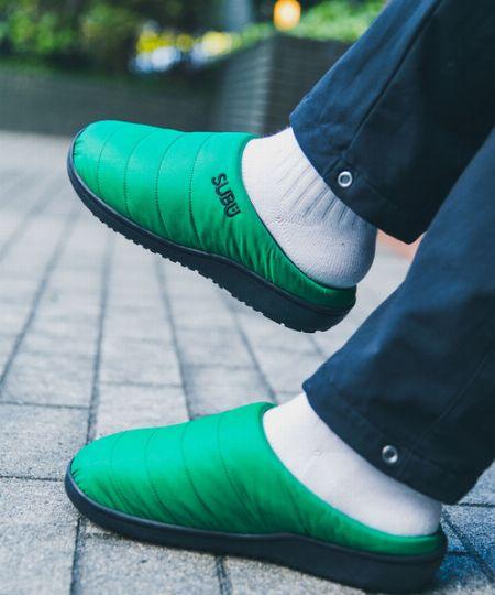暖かく程良い抜け感がいい。冬に履くサンダルに注目