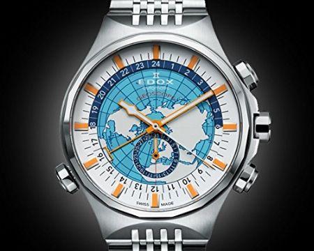 世界初のワールドタイマー搭載時計「ジオスコープ」