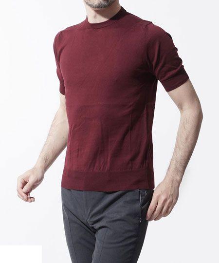 半袖ニットTシャツ