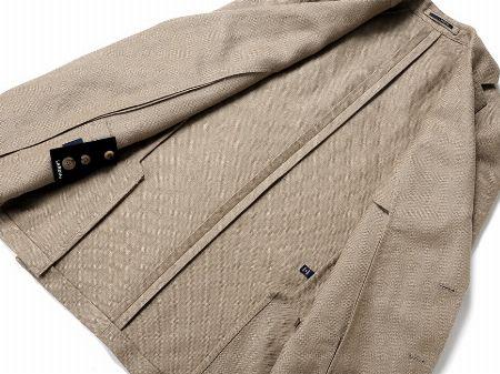 『ラルディーニ』のモノ作りの真髄は、ジャケットにすべて詰まっています