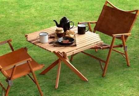 『ザ・ノース・フェイス』キャンプテーブル