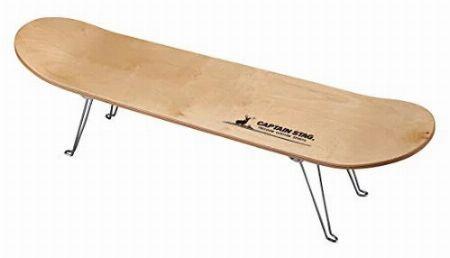 『キャプテンスタッグ』スケボーテーブル
