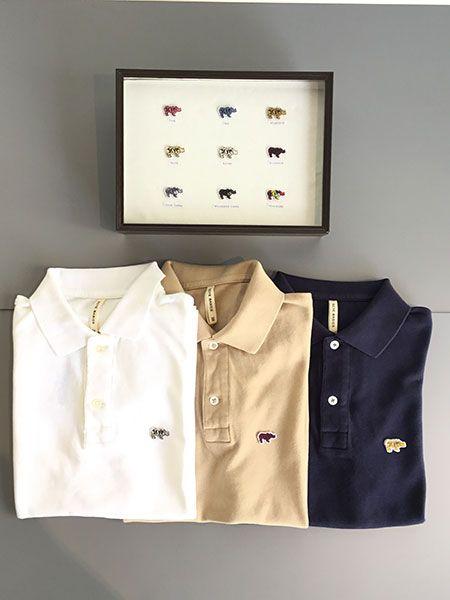ポロシャツとキャップ。サイベーシックスのカスタムオーダーは、やっぱりセンスがいい 2枚目の画像
