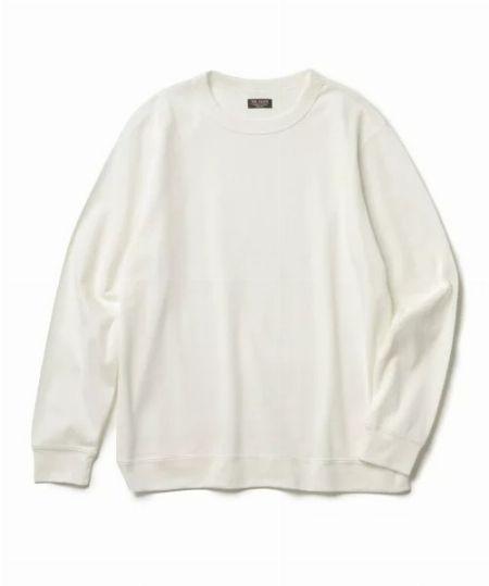 袖リブ・裾リブがあるとシルエットが引き締まる