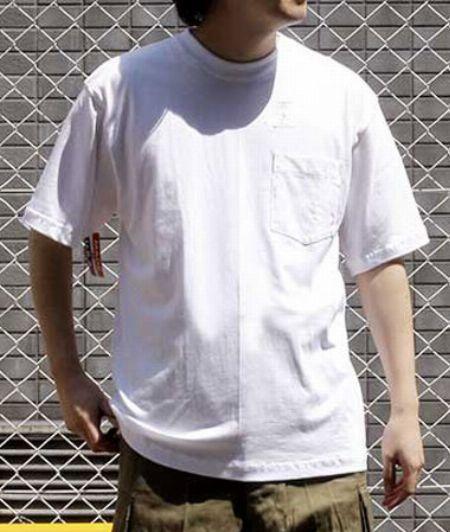 ファイネスト半袖ポケットTシャツ #702