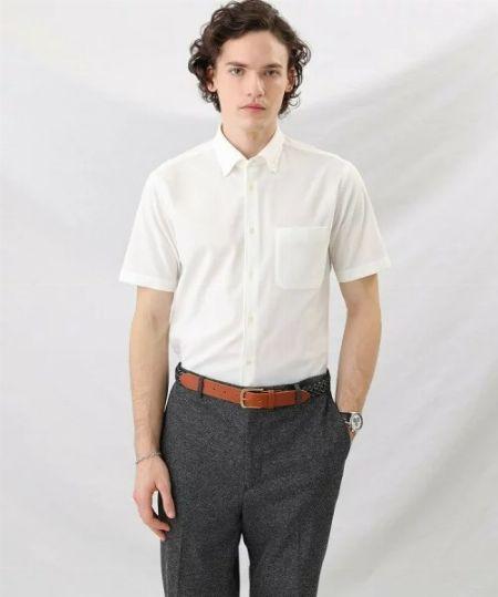 『ポール・スミス』ボタンダウン ショートスリーブシャツ