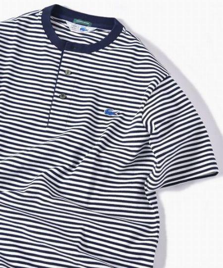 『シップス』別注 ヘンリーネック Tシャツ