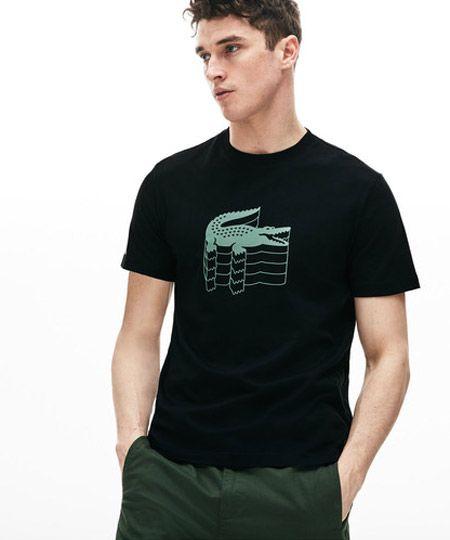 3DロゴプリントTシャツ