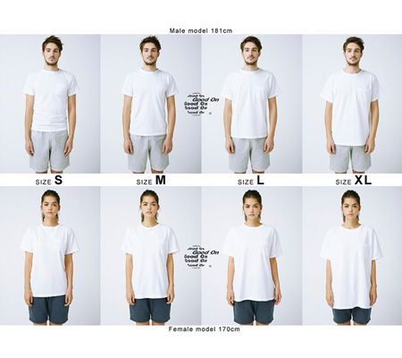 『グッドオン』のTシャツを買う前に知っておきたいサイズ感について