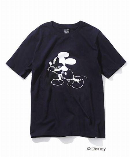 『ナンバーナイン』直営店限定 ミッキーマウス Tシャツ
