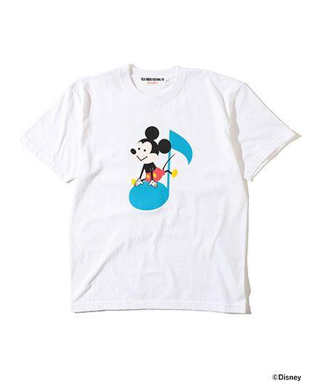 『フジロック フェスティバル '19』×『ビームス』ザワンダフルデザインワークス 音符 Tシャツ
