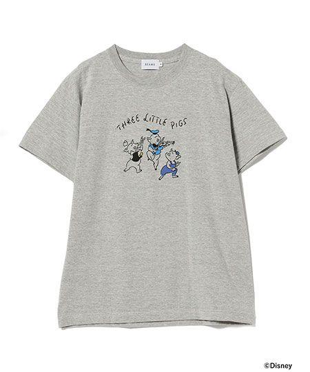 『ビームス』長場 雄 3匹の子ぶた Tシャツ
