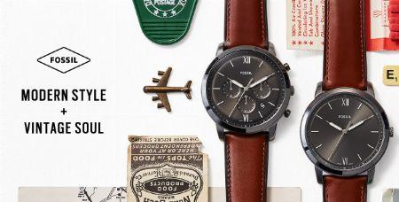 センスの良い腕時計を高コスパで提供する『フォッシル』