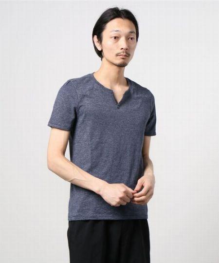 クイックドライ ノッチネックTシャツ