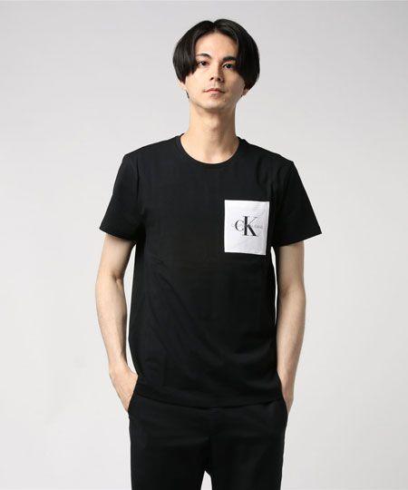 『カルバン・クライン ジーンズ』CK ロゴ ボックスTシャツ