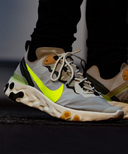 『ナイキ』の新たな機能靴。よく見聞きするリアクトって、何?