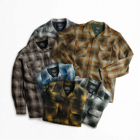 生地の風合いがたまらない『ペンドルトン』のシャツ