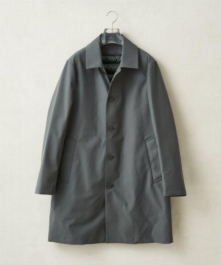 『マンド』スナップ ステンカラー コート