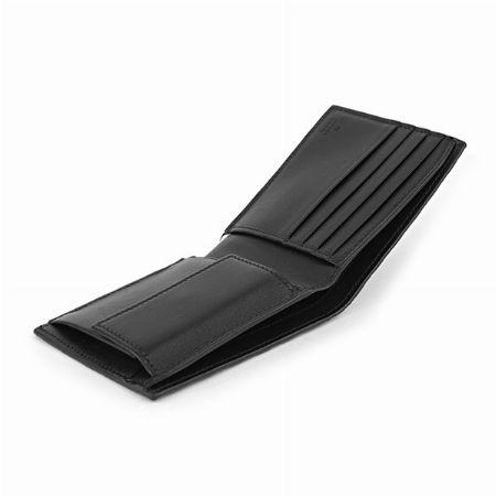 ベーシックな作りがお好みなら二つ折り財布