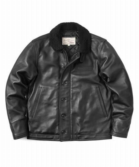 『アヴィレックス』×『ワイパー』別注 シープスキン N-1デッキジャケット