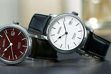 初めての機械式時計は、『プレザージュ』から探せば間違いない