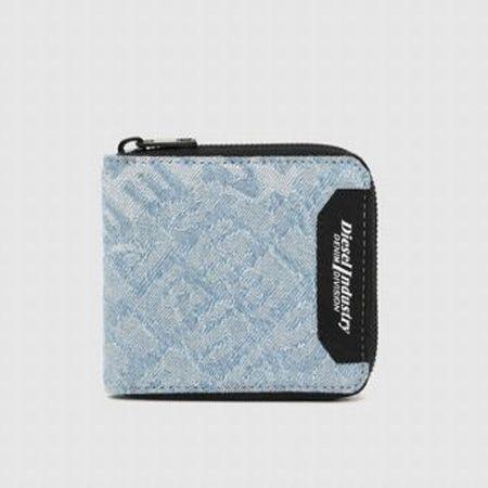 メンズ リピートロゴ 二つ折り財布