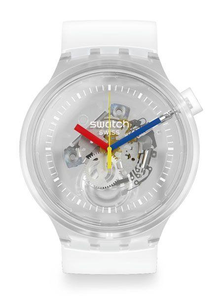 まさにクラゲのような透明感。新旧モデルのいいとこ取りな腕時計で、春を軽快に 2枚目の画像