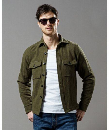 『マーカウェア』CPOシャツジャケット
