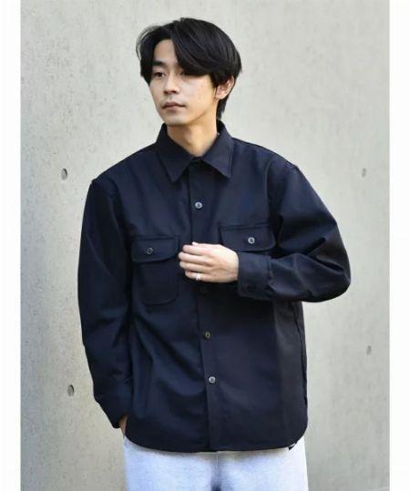 『ローター』ヒッコリー シャツジャケット