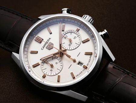 基本中の基本。ラウンドタイプの腕時計なら、まずハズさない