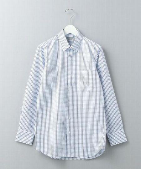 『ワークトリップアウトフィッツグリーンレーベルリラクシング』WTO PE ウィイドウペン スリム BDシャツ