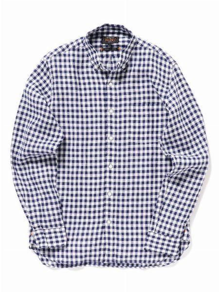 ▼アイテム1:チェックシャツ