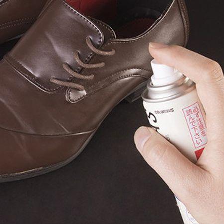 最後に押さえたい、靴の防水スプレーの正しい使い方