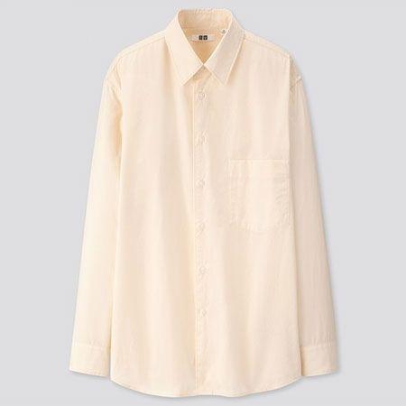 ▼ユーティリティに使える「レギュラーカラーシャツ」のお手本コーデ