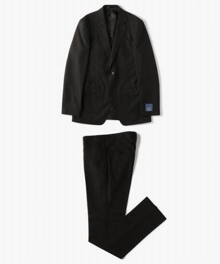 『トゥモローランド』トロピカルウールモヘア 2Bスーツ ドラゴ ブルーフィール
