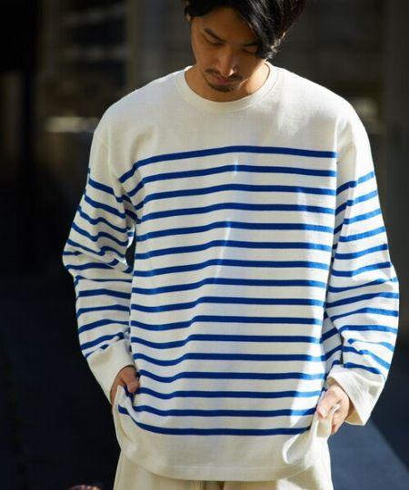 『バトナー』×『スティーブン アラン』バスクシャツ