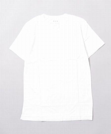 『ジョンスメドレー』30ゲージ コットン クルーネック Tシャツ