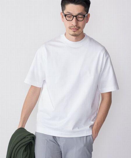 『スティア』オーセンティックモックネックTシャツ